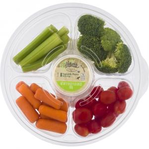 Nature's Promise Veggie Snack Tray with Dip