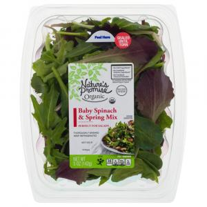 Nature's Promise Organic Spinach Spring Mix
