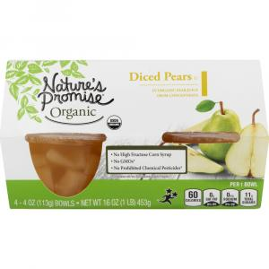 Nature's Promise Organic Diced Pears