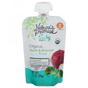 Nature's Promise Organic Apple & Broccoli Baby Food