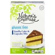 Nature's Promise Gluten Free Vanilla Cake & Cupcake Mix