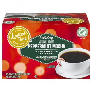 Limited Time Originals Peppermint Mocha Single Serve Cups