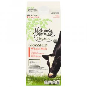 Nature's Promise Grassfed Whole Milk