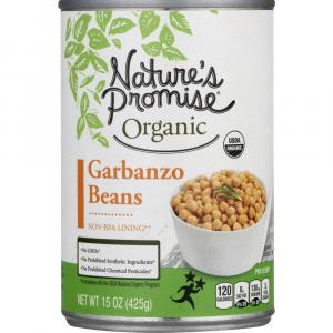 Nature's Promise Organic Garbanzo Beans