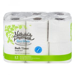Nature's Promise Double Roll Bath Tissue