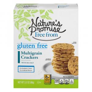Nature's Promise Gluten Free Multigrain Crackers