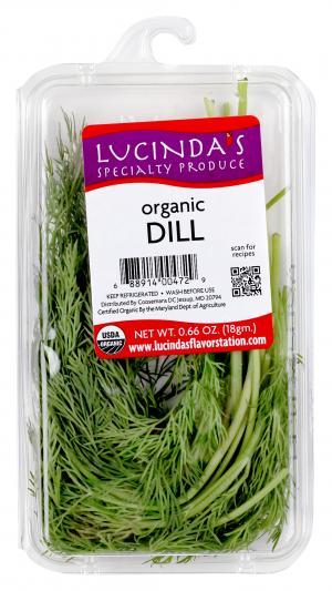 Lucinda's Organic Dill