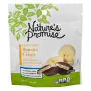 Nature's Promise Chocolate Covered Freeze Dried Banana Crisp