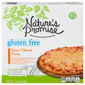 Nature's Promise Gluten Free Four Cheese Pizza