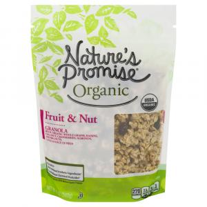 Nature's Promise Organic Fruit & Nut Granola