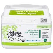 Nature's Promise Organic Infant Formula with Iron
