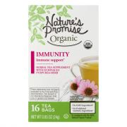 Nature's Promise Organic Immunity Herbal Tea Supplement