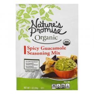 Nature's Promise Organic Spicy Guacamole Seasoning Mix