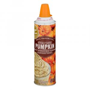 Limited Time Originals Pumpkin Whipped Topping