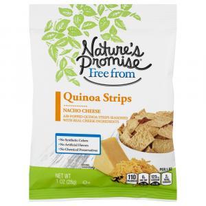 Nature's Promise Quinoa Strips Nacho Cheese
