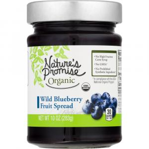 Nature's Promise Organic Wild Blueberry Fruit Spread