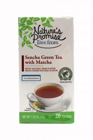 Nature's Promise Matcha Green Tea with Asian Pear