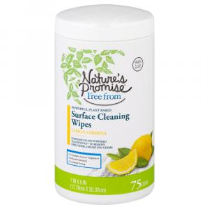 Nature's Promise Surface Cleaning Wipes Lemon Verbena
