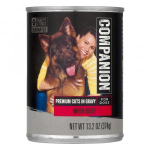 Companion Beef Cuts Dog Food