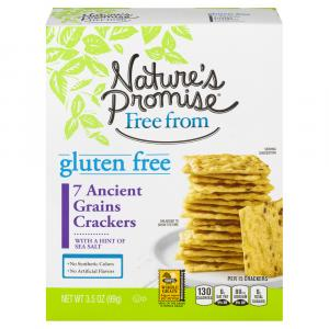 Nature's Promise Gluten Free 7 Ancient Grains Crackers