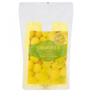 Limited Time Originals Limoncello Plastic Party Cups