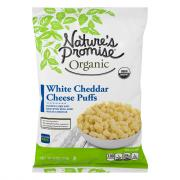 Nature's Promise Organic White Cheddar Cheese Puffs