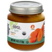 Nature's Promise Organic Carrots Baby Food