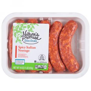 Nature's Promise Spicy Italian Sausage