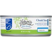 Nature's Promise Chunk Light Tuna in Water