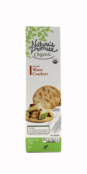 Nature's Promise Organic Sesame Water Crackers