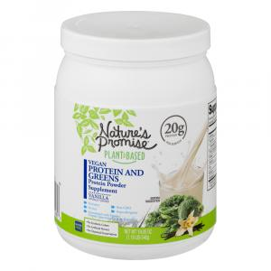 Nature's Promise Vegan Protein and Greens Protein Powder