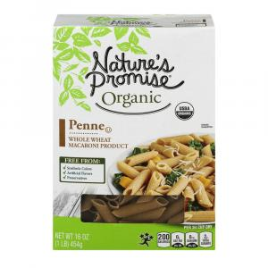 Nature's Promise Organic Whole Wheat Penne Pasta