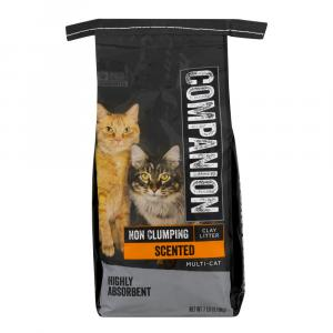 Companion Pet Scented Ground Clay Cat Litter