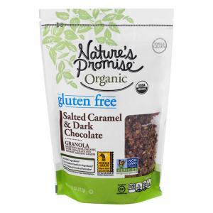 Nature's Promise Salted Caramel Dark Chocolate Granola