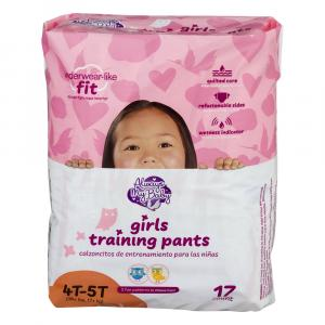 Always My Baby Training Pants Girl Size 4T-5T