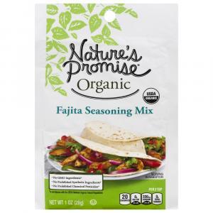 Nature's Promise Organic Fajita Seasoning