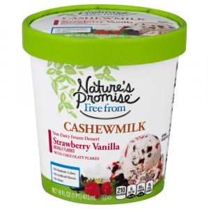 Nature's Promise Cashewmilk Strawberry Vanilla