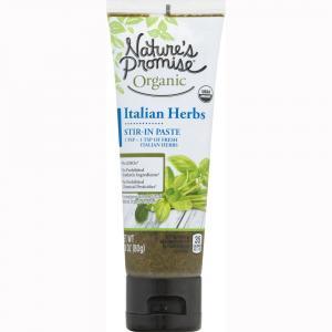 Nature's Promise Organic Italian Herbs Stir-in-Paste