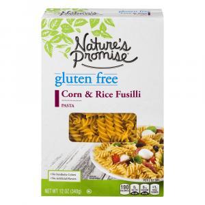 Nature's Promise Gluten Free Corn & Rice Fusilli Pasta