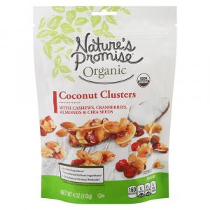 Nature's Promise Organic Coconut Clusters with Cashews