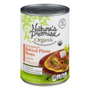 Nature's Promise Organic Vegetarian Refried Pinto Beans