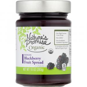 Nature's Promise Organic Seedless Blackberry Fruit Spread