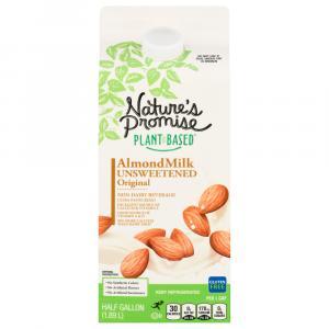 Nature's Promise Unsweetened Original Almondmilk