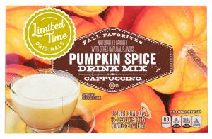 Limited Time Originals Pumpkin Spice Cappuccino Single Serve
