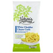 Nature's Promise White Cheddar Cheese Curls