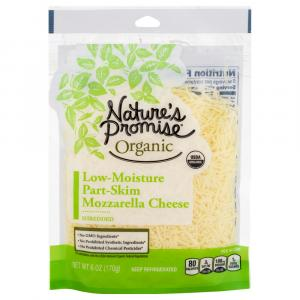 Nature's Promise Organic Mozzarella Shredded Cheese