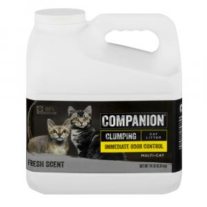Companion Pet Scented Scoopable Cat Litter