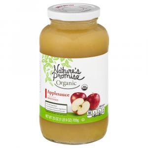 Nature's Promise Organic Sweetened Apple Sauce