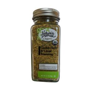 Nature's Promise Organic Garden Herb & Citrus Seasoning