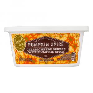Limited Time Originals Pumpkin Spice Cream Cheese Spread